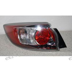 Mazda 3 nowy model lewa kompletna lampa tył Oryginał