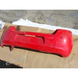 Toyota Yaris zderzak tył czerwony PDC