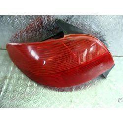Peugeot 206 lewa lampa tył oryginał z wkładem Pozostałe