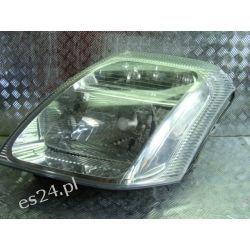 Citroen C2 lewa lamp przód reflektor