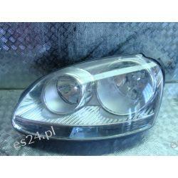 Vw Golf lewa lampa przednia srebrna Lampy przednie