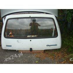 Fiat Cinquecento klapa tył oryginał cała z szyba