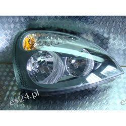 Renault Clio III prawa lampa przednia oryginał hella Zderzaki