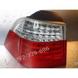 BMW 5 E61 KOMBI LIFT LAMPA LEWA TYŁ LED  Lampy przednie