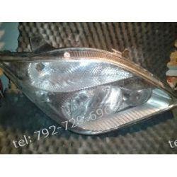 Mercedes Sprinter prawa lampa przód po kolizji, klosz cały, 2 uchwyty całe, + instalacja, W906