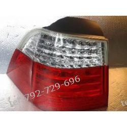 BMW 5 lewa lampa tył, kombi, led, lift, klosz ładny, uchwyty całe