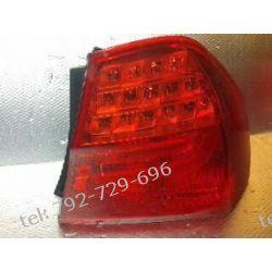 BMW 3 prawa lampa tył LED sedan, klosz i uchwyty całe