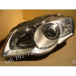 VW PASSAT B6 lewa lampa przód, zwykła żarówka