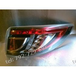 Mazda 6 prawa lampa tył kombi,srebrna ramka
