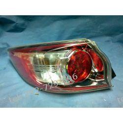 Mazda 3 lewa lampa tył 08-12 +oprawki +żarówki +uszczelka