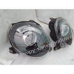 FIAT 500 KOMPLET LAMP PRZÓD SOCZEWKOWE BI-HALOGEN