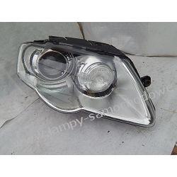VW PASSAT B6 PRAWA LAMPA PRZÓD XENON Lampy tylne
