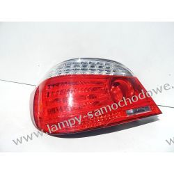 BMW 5 E60 LIFT LED LEWA LAMPA TYŁ
