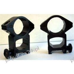 Montaż 2 częściowy na szeroką szyne 17-22 mm