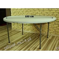 Stół bankietowy cateringowy okrągły FI: 153 cm