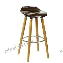 Hoker kuchenny, stołek barowy - PERFECTO Brown
