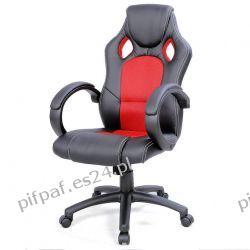FOTEL biurowy obrotowy SPORT LINE - F16 Black/Red