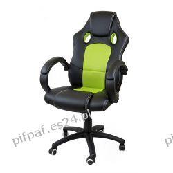 FOTEL biurowy obrotowy SPORT LINE - F16 Black/Green