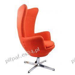 FOTEL wypoczynkowy obrotowy Chanell Orange EGG Biuro i Reklama