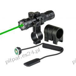 Laser, celownik laserowy zielony szyna 18-22 mm ASG RIS