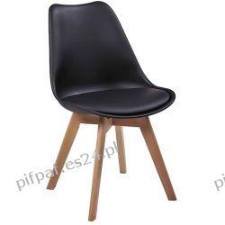 Nowoczesne krzesło do jadalni - IRIS Black