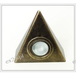 Oprawa trójkąt stare złoto SKOFF