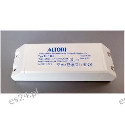 Transformator elektroniczny THP105 105W do żarówek halogenowych  ALTORI
