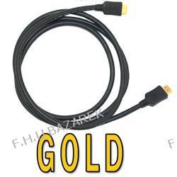 Kabel HDMI GOLD 19 pin - 1,8 m