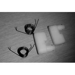 Zapadki + sprężyny rozrusznika STEEL, NAC, EUROTEC