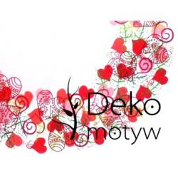 *dekomotyw* Stemple Heyda Mix&Match serca