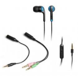 MOBIPHONE - Uniwersalny zestaw słuchawek dousznych z mikrofonem...