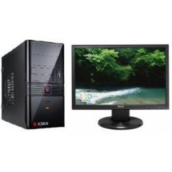 ZESTAW KOMP: PC ADAX ALFA W7HX2600+ MONITOR LCD ASUS VW199NR...