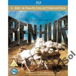 BEN HUR - WYDANIE KOLEKCJONERSKIE 50. (3Blu-ray)