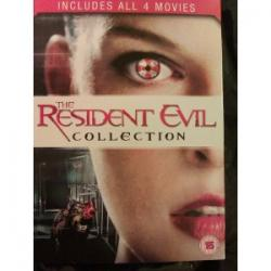 Resident Evil 1-4 [4xDVD]