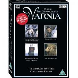 The Chronicles Of Narnia / Kroniki Narnii  4 x DVD
