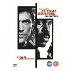 Zabójcza Broń Kolekcja 1-4  DVD
