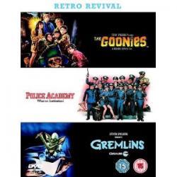 Goonies / Gremliny / Akademia Policyjna DVD BOX