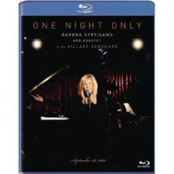 BARBARA STREISAND ONE NIGHT ONLY  [Blu-ray]