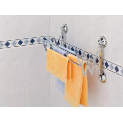 Wieszak na ręczniki EVERLOC BEZ WIERCENIA