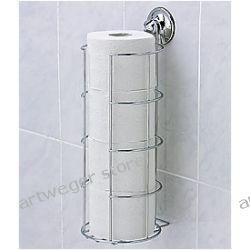 Wieszak na papier toaletowy zapas 10216 BEZ WIERCENIA