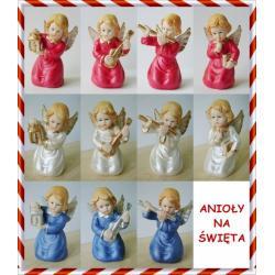 figurka figurki anioł anioły porcelanowe
