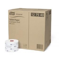 Papier toaletowy do dozowania z automatyczną zmianą rolek Tork Uniwersal biały...