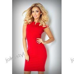 JOKASTYL OŁÓWKOWA sukienka czerwona S 36
