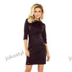 jokastyl elegancka sukienka w dwóch kolorach S M L XL czarna