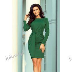 JOKASTYL ZIELONA SUKIENKA z wiazaniem S M L XL Sukienki mini
