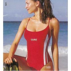 Naturana strój kąpielowy sportowy 44 granatowy