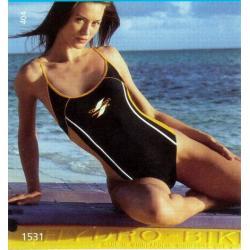 Naturana strój kąpielowy sportowy 40 niebieski