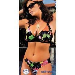 Self 0282 strój kąpielowy L  bordowy