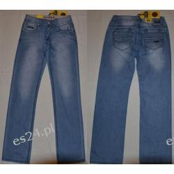Spodnie jeans męskie