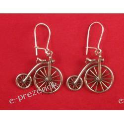e-prezencik Kolczyki rowery rowerki srebro 925